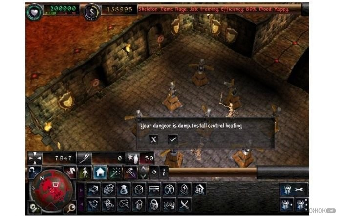 Dungeon Keeper Game Download Full